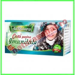 Ceai pentru Imunitate 20 plicuri - Ad Natura - Adserv - www.naturasanat.ro