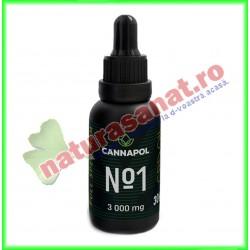 Ulei CBD Cannapol No.1 10% 3000 mg 30 g - Cannapol - www.naturasanat.ro