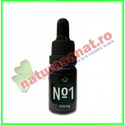 Ulei CBD Cannapol No.1 10% 1000 mg 10 g - Cannapol - www.naturasanat.ro
