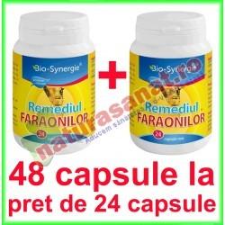 Remediul Faraonilor (Ulei Chimen Negru) 700 mg PROMOTIE 48 capsule la pret de 24 capsule - Bio Synergie - www.naturasanat.ro