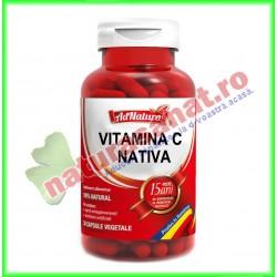 Vitamina C Nativa 60 capsule - Ad Natura - Adserv - www.naturasanat.ro