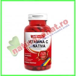 Vitamina C Nativa 30 capsule - Ad Natura - Adserv - www.naturasanat.ro