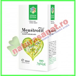 Menstrofit Tinctura 50 ml - Santo Raphael / Steaua Divina - www.naturasanat.ro