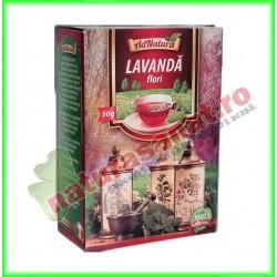 Ceai Lavanda Flori 50 g -...