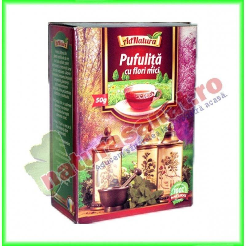 Ceai de Pufuliナ」a cu Flori Mici 窶・Boli Renale ナ殃 Tumorale   LaTAIFAS