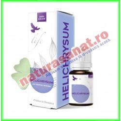 Helichrysum ( Imortele ) Ulei Esential 5 ml - Bionovativ - www.naturasanat.ro