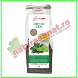 Ceai Verde Sencha 50 g - Farmaclass - www.naturasanat.ro