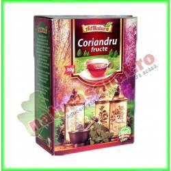 Ceai Coriandru Fructe 50 g - Ad...