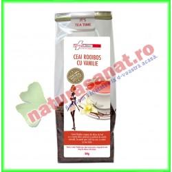 Ceai Rooibos cu Vanilie 50 g - Farmaclass - www.naturasanat.ro