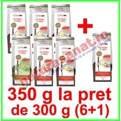 Ceai Rooibos cu Vanilie PROMOTIE 350 g la pret de 300 g (6+1) - Farmaclass - www.naturasanat.ro