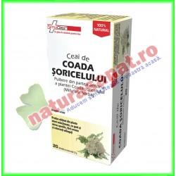 Ceai de Coada Soricelului PROMOTIE 140 doze la pret de 120 doze (6+1) - Farmaclass - www.naturasanat.ro