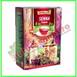 Ceai Senna Frunze 50 g - Ad...
