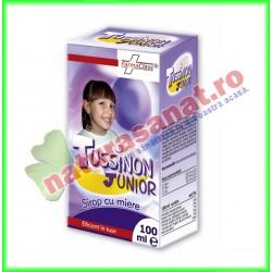 Tussinon Junior Sirop 100 ml - Farmaclass - www.naturasanat.ro