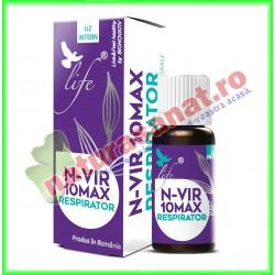 N-VIR 10 MAX Respirator 10 ml - Bionovativ - www.naturasanat.ro