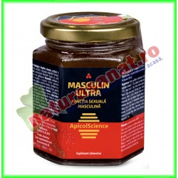 Masculin Ultra 200 ml - Apicolscience - www.naturasanat.ro