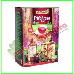 Ceai Trifoi Rosu Flori 30 g...