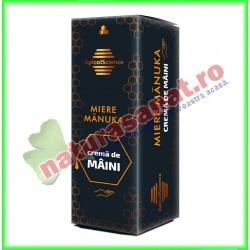 Crema de Maini Cu Miere de Manuka 50 ml - Apicolscience - www.naturasanat.ro