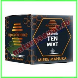 Crema Cu Miere de Manuka pentru Ten Mixt 50 ml - Apicolscience - www.naturasanat.ro