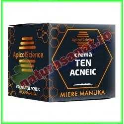 Crema Cu Miere de Manuka pentru Ten Acneic 50 ml - Apicolscience - www.naturasanat.ro
