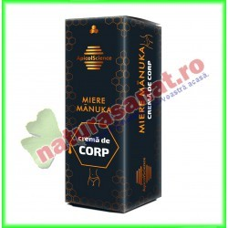 Crema de Corp cu Miere Manuka 50 ml - Apicolscience - www.naturasanat.ro