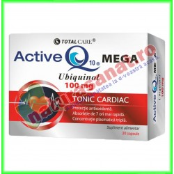 Active Q10 Mega Ubiquinol 30 capsule - Cosmo Pharm - www.naturasanat.ro