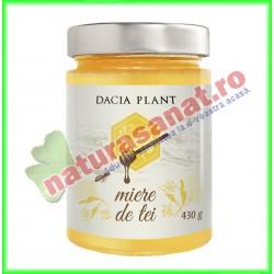Miere de Tei 430 g - Dacia Plant - www.naturasanat.ro