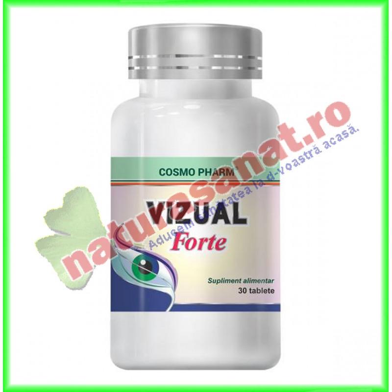 Vizual Forte 30 tablete - Cosmo Pharm - www.naturasanat.ro - 0722737992