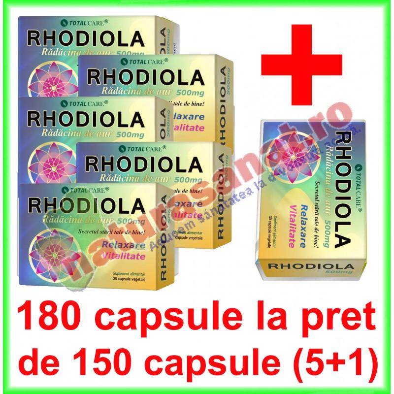 Rhodiola 7500mg, 60 capsule, Cosmopharm