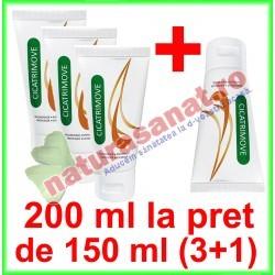 Cicatrimove Crema cu Extract Ceapa, Galbenele si Musetel PROMOTIE 200 ml LA PRET DE 150 ml (3+1) - Onedia Distribution