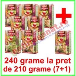 Ceai Albastrele Flori PROMOTIE 240 g la pret de 210 grame (7+1) - Ad Natura - Adserv - www.naturasanat.ro