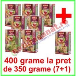Ceai Antiadipos PROMOTIE 400 g la pret de 350 g (7+1) - Ad Natura - Adserv - 0722737992
