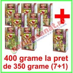 Ceai Anticolesterol PROMOTIE 400 g la pret de 350 g (7+1) - Ad Natura - Adserv - www.naturasanat.ro