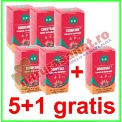 Cordyang 497 mg 30 capsule PROMOTIE 5+1 GRATIS - Yong Kang - Co&Co Consumer - www.naturasanat.ro