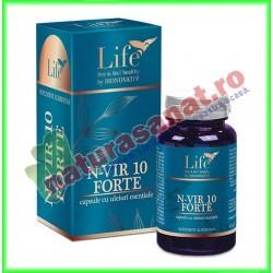 N-VIR 10 Forte 30 capsule - Bionovativ - www.naturasanat.ro