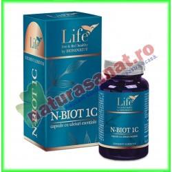 N-BIOT 1C 30 capsule - Bionovativ - www.naturasanat.ro