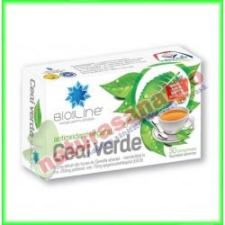 Ceai Verde 30 tablete - Helcor