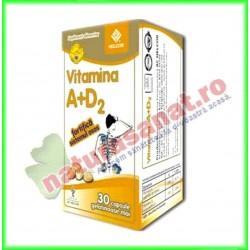 Vitamina A + D2 30 capsule...