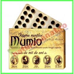 Mumio Rasina muntilor 30 tablete - Radu & Sons / RACO