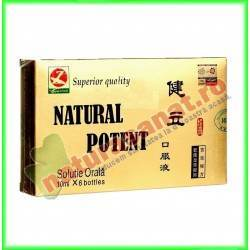 Natural Potent 6 fiole -...