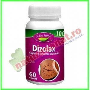 Dizolax 60 capsule - Indian Herbal