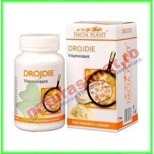 Drojdie 60 comprimate - Dacia Plant