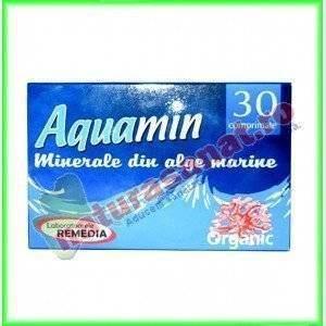 Aquamin Calciu Organic 30 comprimate - Laboratoarele Remedia