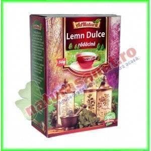 Ceai Lemn Dulce Radacina 50 g - Ad Natura