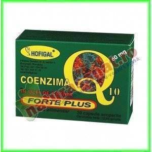 Coenzima Q10 in Ulei de Catina Forte Plus 60 mg 30 capsule - Hofigal