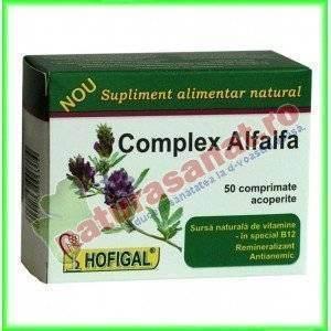Complex Alfalfa 50 comprimate - Hofigal
