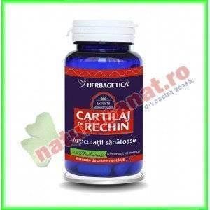 Cartilaj de Rechin 70 capsule - Herbagetica