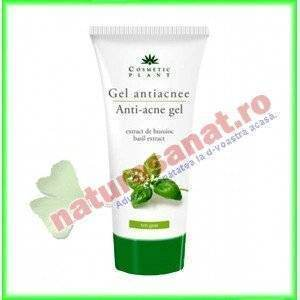 Gel antiacneic cu extract de busuioc 100 ml - Cosmetic Plant