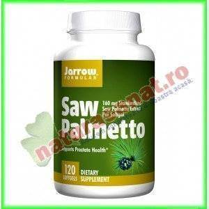 Saw Palmetto ( extract de Palmier pitic ) 160mg 60 capsule gelatinoase moi - Jarrow Formulas - Secom