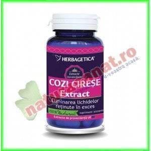 Cozi de Cirese cu Extract 30 capsule - Herbagetica