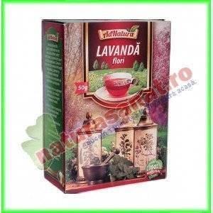 Ceai Lavanda Flori 50 g - Ad Natura